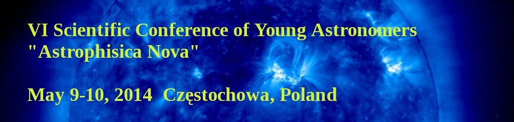 VI Scientific Conference of Young Astronomers